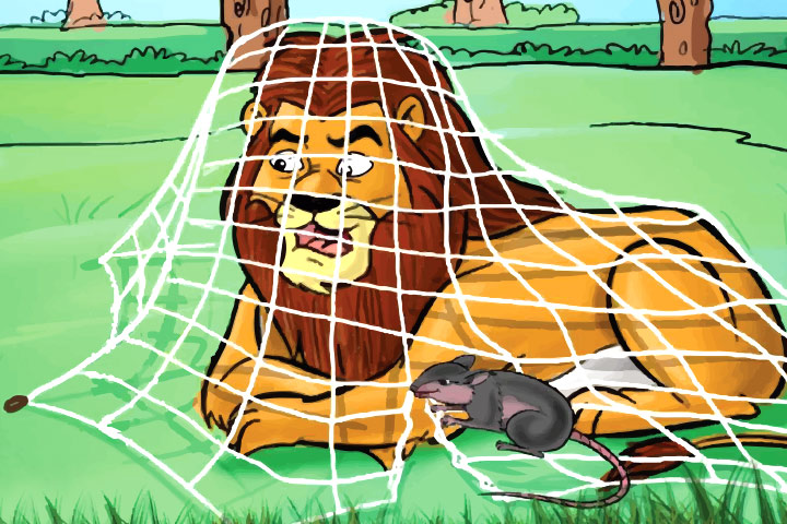 The-Lion-And-The-Mouse-Story-For-Your-Kid